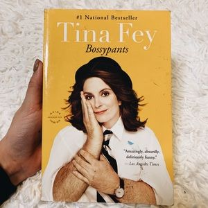 Tina Fey BOSSYPANTS book